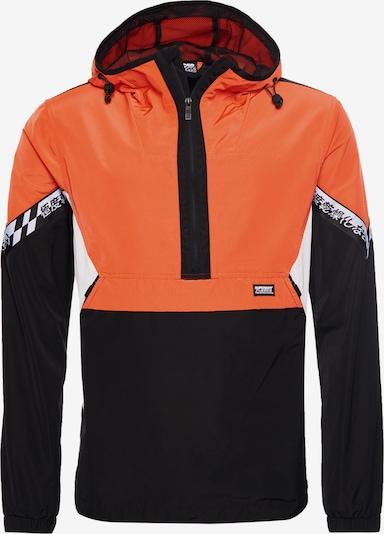 Superdry Tussenjas in de kleur Sinaasappel / Zwart / Wit, Productweergave
