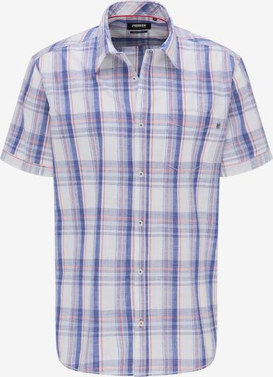 PIONEER Hemd in hellblau / dunkelblau / rot / weiß, Produktansicht