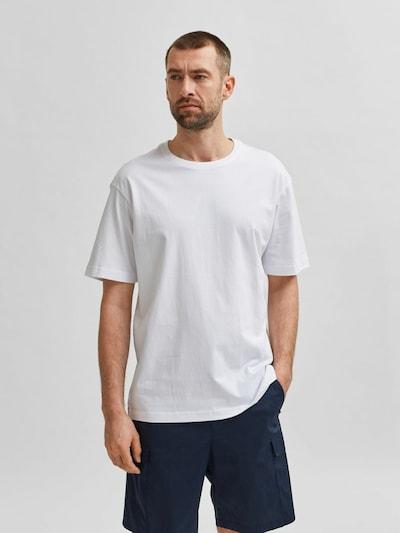 SELECTED HOMME Shirt in de kleur Wit: Vooraanzicht