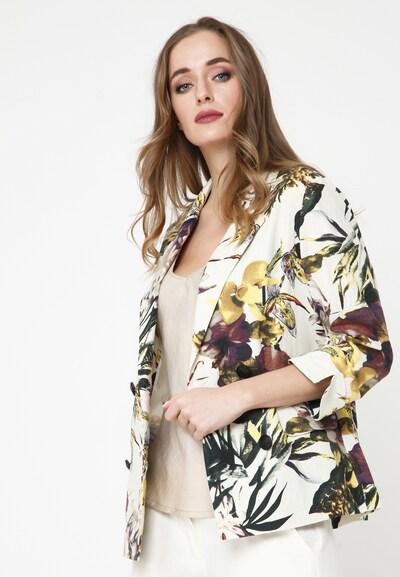 Madam-T Blazer 'SILVANA' in weiß, Modelansicht