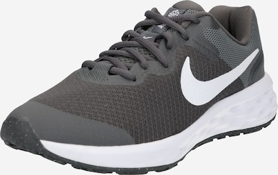 NIKE Schuhe 'Nike Revolution 6' in grau / weiß, Produktansicht