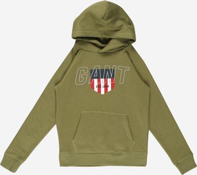 GANT Sweatshirt in navy / oliv / rot / weiß, Produktansicht