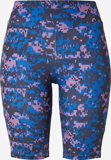 Urban Classics Curvy Leggings en azul cielo / berenjena / lila pastel, Vista del producto
