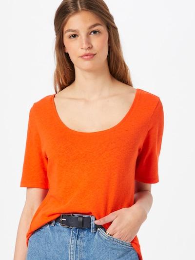 ESPRIT Shirt in orangerot: Frontalansicht