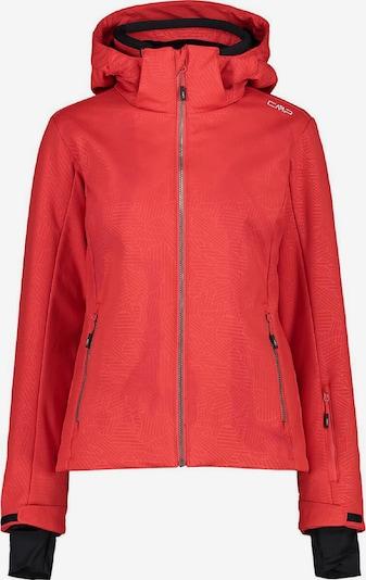 CMP Skijacke ' Softshell Hoodie ' in rot, Produktansicht