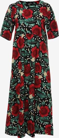 Madam-T Sommerkleid 'SELINA' in rot / schwarz, Produktansicht