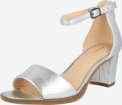 CLARKS Sandale 'Kaylin 60' in silber, Produktansicht