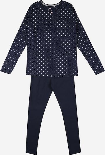 SANETTA Pidžama set u tamno plava / bijela, Pregled proizvoda