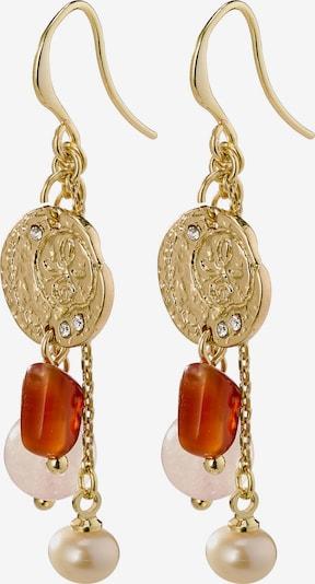Pilgrim Pendientes 'Warmth' en oro, Vista del producto