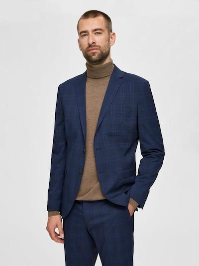 SELECTED HOMME Suknjič | modra / rdeča barva, Prikaz modela