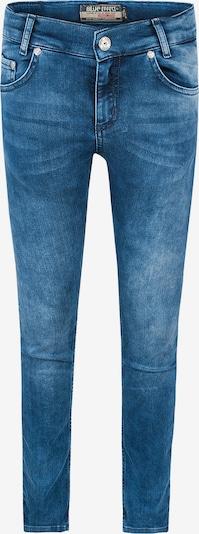 Jeans BLUE EFFECT pe denim albastru, Vizualizare produs