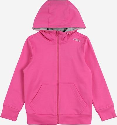 Bluză cu fermoar sport CMP pe roz, Vizualizare produs