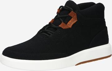 TIMBERLAND Αθλητικό παπούτσι με κορδόνια σε μαύρο
