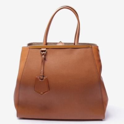 Fendi Handtasche in L in karamell, Produktansicht