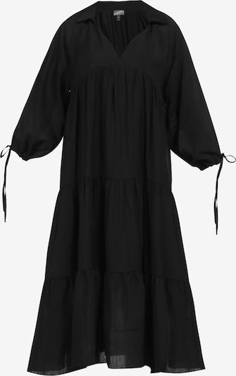 DreiMaster Vintage Volantkleid in schwarz, Produktansicht