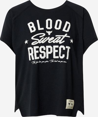 UNDER ARMOUR Toiminnallinen paita värissä musta / valkoinen, Tuotenäkymä