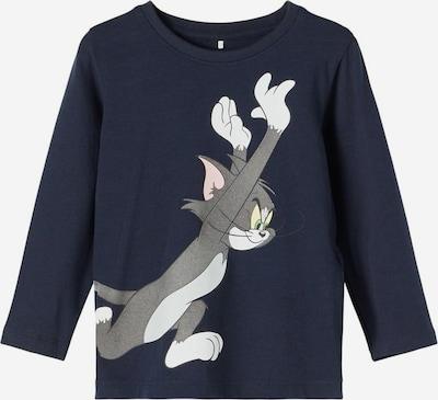 bézs / tengerészkék / barna / szürke / fehér NAME IT Póló 'Tom & Jerry', Termék nézet