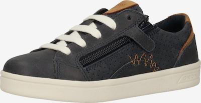 GEOX Sneaker in nachtblau / braun, Produktansicht