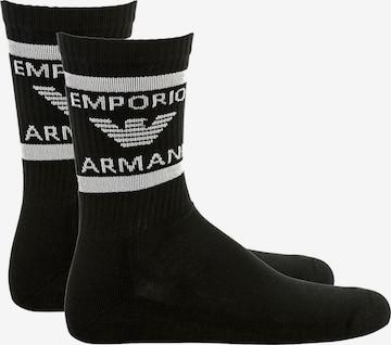 Chaussettes Emporio Armani en noir
