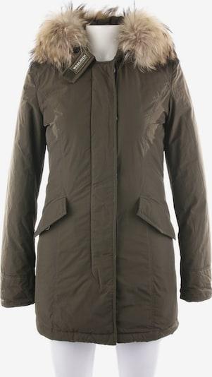 Woolrich Winterjacke / Wintermantel in XS in khaki, Produktansicht