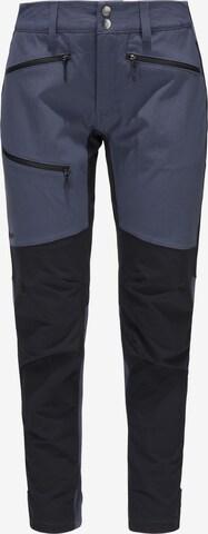 Haglöfs Outdoorbroek 'Rugged Flex' in Blauw