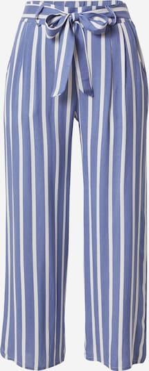 Hailys Kalhoty se sklady v pase 'Cira' - modrá / bílá, Produkt