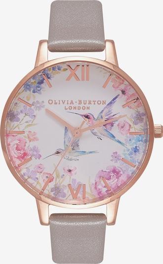 Olivia Burton Analoguhr in rosegold / grau / mischfarben, Produktansicht