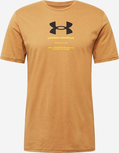 UNDER ARMOUR Sportshirt in gelb / orange / schwarz, Produktansicht