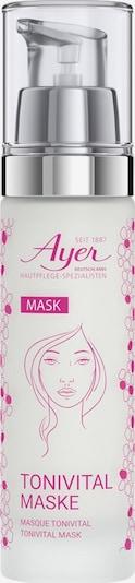 Ayer Tonivital Maske in pink / weiß, Produktansicht