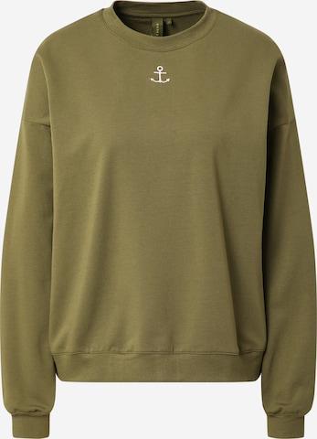 Résumé Sweatshirt 'Geoffrey' in Green