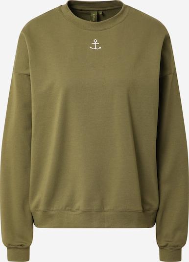 Résumé Sweatshirt 'Geoffrey' in oliv, Produktansicht