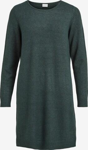 VILA Gebreide jurk 'Ril' in Groen