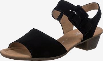 GABOR Sandale in Schwarz