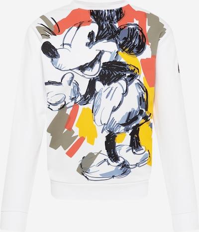 ICEBERG Sweat-shirt en bleu-gris / jaune / rouge / noir / blanc, Vue avec produit