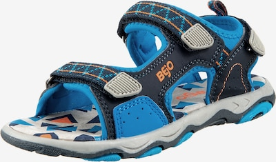 BEjO Sandals & Slippers 'ALISI' in Blue / Grey, Item view