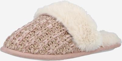 NEW LOOK Papuče 'NURY' u zlatna / prljavo roza / vuneno bijela, Pregled proizvoda