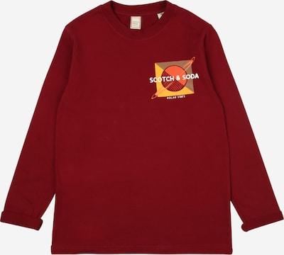 Scotch Shrunk Shirt in de kleur Goudgeel / Kaki / Sinaasappel / Donkerrood / Wit, Productweergave