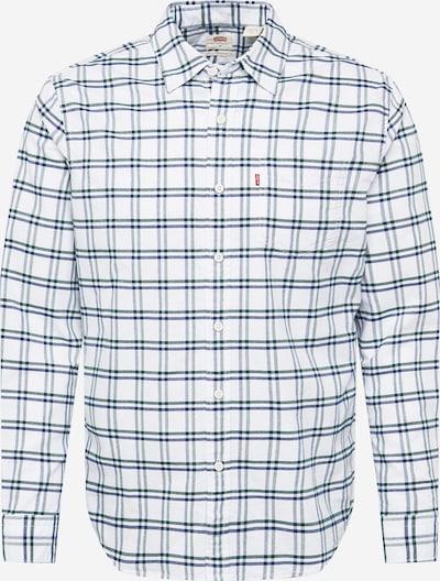 LEVI'S Chemise en bleu-gris / vert chiné / blanc, Vue avec produit
