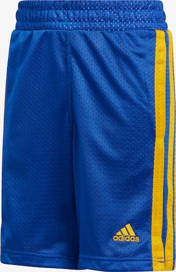 ADIDAS PERFORMANCE Shorts  'Young Creators Legend' in blau / gelb, Produktansicht