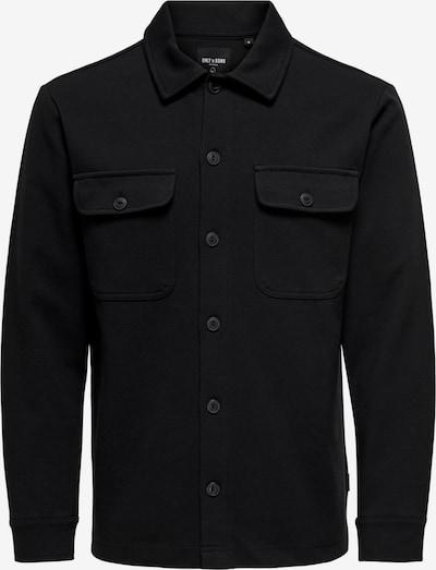 Only & Sons Tussenjas 'Kodyl' in de kleur Zwart, Productweergave
