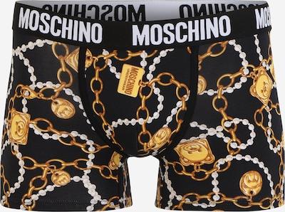 Moschino Underwear Boxers en jaune foncé / noir / blanc, Vue avec produit