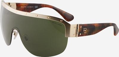 Ochelari de soare '0RL7070' Ralph Lauren pe maro amestecat / auriu / verde închis, Vizualizare produs