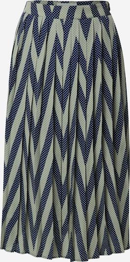 minimum Suknja 'Sisso' u mornarsko plava / maslinasta / bijela, Pregled proizvoda