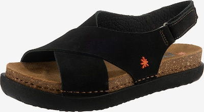 ART Rhodes Klassische Sandalen in schwarz, Produktansicht