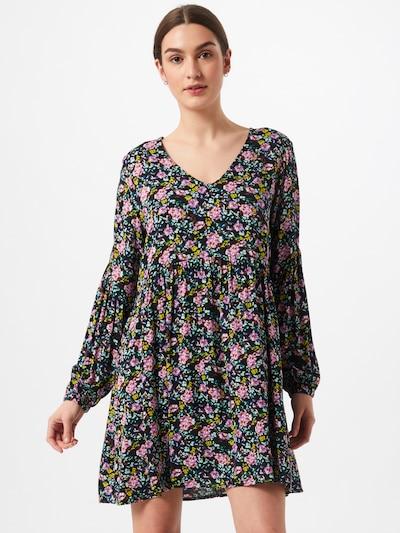 JDY Kleid in türkis / gelb / pink / schwarz, Modelansicht
