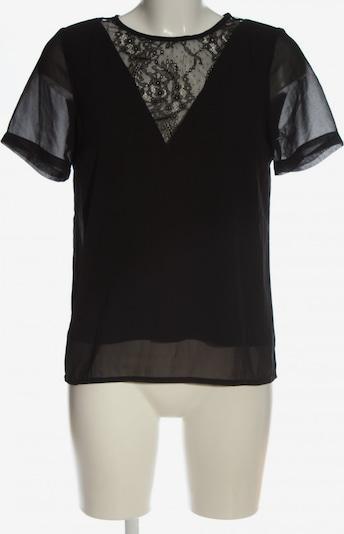 VERO MODA Kurzarm-Bluse in XS in schwarz, Produktansicht