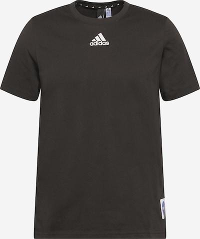 ADIDAS PERFORMANCE Sportshirt in blau / rot / bordeaux / schwarz / weiß, Produktansicht