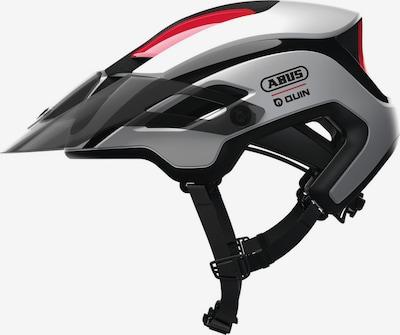 ABUS Helm 'MONTRAILER Quin' in grau / rot / schwarz, Produktansicht