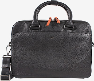 Braun Büffel Laptoptasche 'NOVARA' in schwarz, Produktansicht