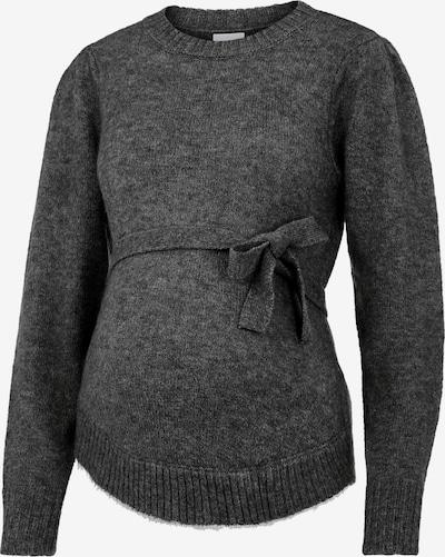 MAMALICIOUS Sweater 'SAVANNAH' in Dark grey, Item view